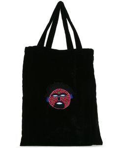 Jupe By Jackie | Embroidered Shopper Tote Silk