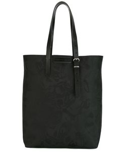 Alexander McQueen | Skull Jacquard Tote Cotton/Leather