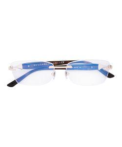 Bulgari | Square Shaped Glasses Acetate/Metal