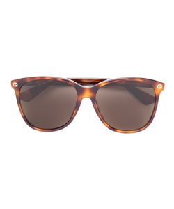 Gucci Eyewear | Oversize Gradient Round Sunglasses