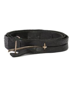 MA+ | Y Buckle Medium Belt Large Buffalo Leather