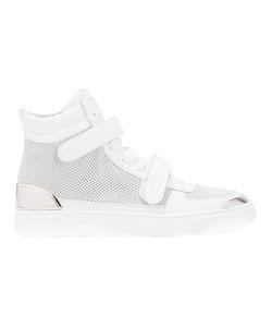 Louis Leeman | Double Stap Hi-Top Sneakers Size 44 Calf