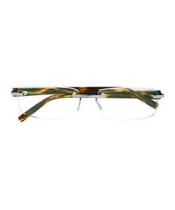 Tag Heuer | Rectangular Glasses Acetate/Nickel