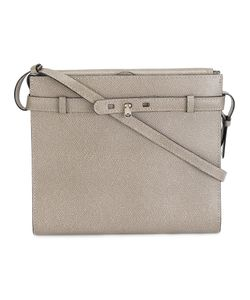 Valextra | Grained Crossbody Bag Calf Leather