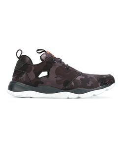 Reebok | Camouflage Print Sneakers 9.5 Cotton/Rubber