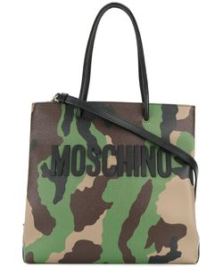 Moschino | Camouflage Logo Tote