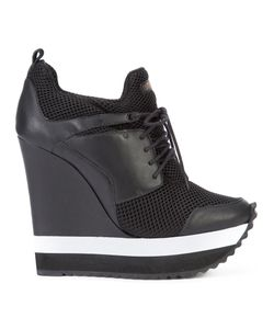 Ruthie Davis | Tech Sneakers 40 Calf Leather/Nylon/Rubber