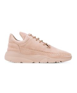 Filling Pieces | Lace-Up Suede Sneakers
