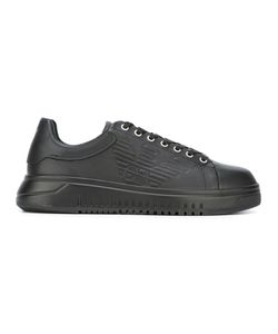 Emporio Armani | Lace Up Trainers 5 Calf Leather/Leather/Rubber