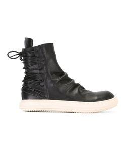 D. Gnak | D.Gnak Laced Back Boots Size