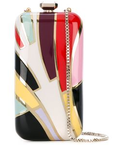 Elie Saab | Colour Block Boxy Clutch