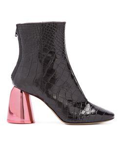 Ellery | Ботинки С Эффектом Крокодиловой Кожи
