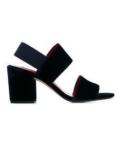Stuart Weitzman   Velvet Slingback Sandals
