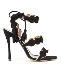 Tabitha Simmons | Cirrius Sandals 39 Suede/Leather