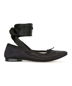 Repetto | Ankle-Wrap Ballerinas Size 40