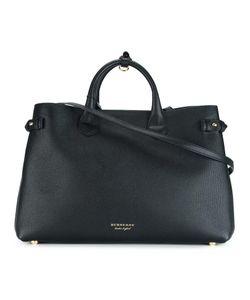Burberry | Large Banner Shoulder Bag Cotton/Calf Leather