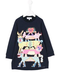 Simonetta | Limited Edition Zosen Bandid Print Dress 6 Yrs