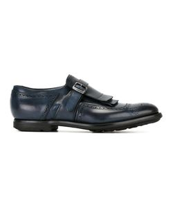 Church'S | Shangai Monk Shoes 9.5 Calf Leather/Leather