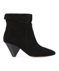 Veronica Beard | Folded Cuff Ankle Boots Women