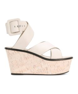 Barbara Bui | Crossover Wedge Sandals
