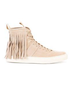 Daniel Patrick | Fringed Roamer Sneakers 39 Leather/Rubber