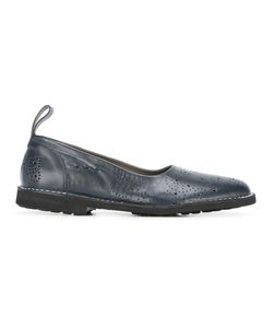 Rocco P. | Perforated Detail Ballerinas 36 Calf Leather/Leather/Rubber