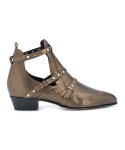 Jimmy Choo | Ботинки С Эффектом Металлик