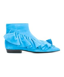 J.W. Anderson | J.W.Anderson Ruffled Ankle Boots Size 36