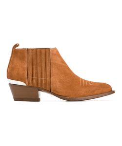 Buttero | Metal Detail Ankle Boots 40 Leather