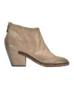 Roberto Del Carlo | Chunky Mid-Heel Ankle Boots 40