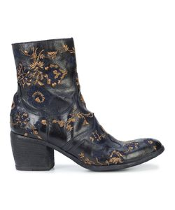 FAUZIAN JEUNESSE | Embroidered Ankle Boots Women