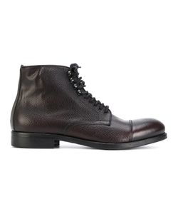LEQARANT | Lace-Up Ankle Boots Men 42