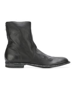 Officine Creative | Tornado Zipped Boots 40 Leather