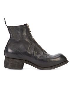 GUIDI | Front Zip Boots 39 Horse Leather/Leather