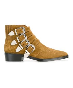 Toga | -Buckle Boots 43 Suede/Leather