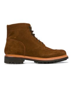 Grenson | Grover Apron Boots 7 Suede/Leather/Rubber