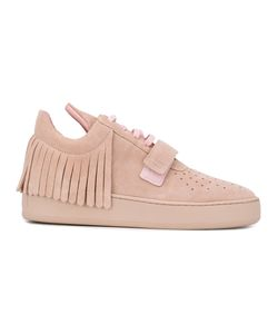 Filling Pieces | Fringed Lace-Up Sneakers Size 37