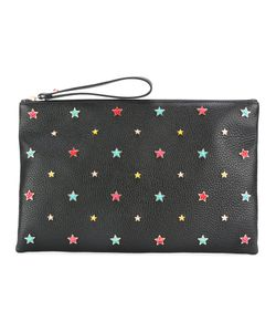 Red Valentino | Star Embellished Clutch Leather/Metal Other