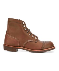 Red Wing Shoes | Lace-Up Boots 8 Leather/Rubber