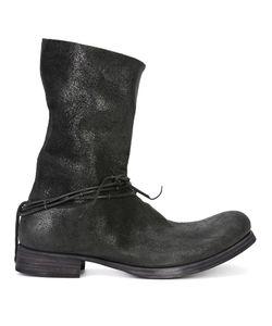 MA+ | Tone Ringed String Boots 41 Buffalo Leather
