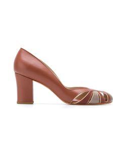 Sarah Chofakian | Chunky Heel Pumps