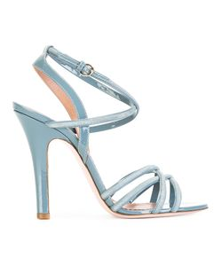 Red Valentino | Strappy Heeled Sandals 40 Leather
