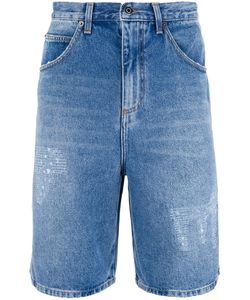J.W. Anderson | J.W.Anderson Washed Denim Shorts 48 Cotton