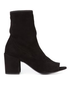 Stuart Weitzman | Big Koko Boots 5.5 Suede/Leather