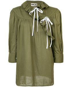Hache | Frill Peasant Blouse 40
