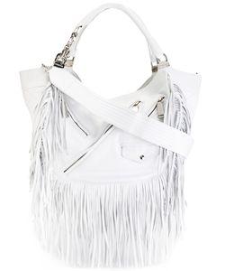 Dsquared2 | Fringed Detail Shoulder Bag Leather