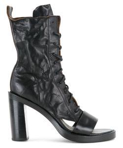 Ann Demeulemeester | Cut Out Heel Boots Size 36