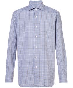 Isaia | Checked Shirt Men 17