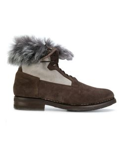 Santoni | Fur-Lined Ankle Boots Men