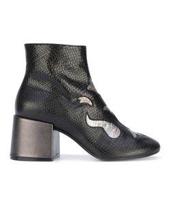 MM6 by Maison Margiela | Ботинки С Панелями Металлик